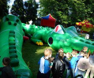 Dmuchańce na wynajem - krokodyl tunel