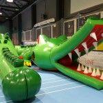 dmuchaniec tunel krokodyl tor przeszkod 5