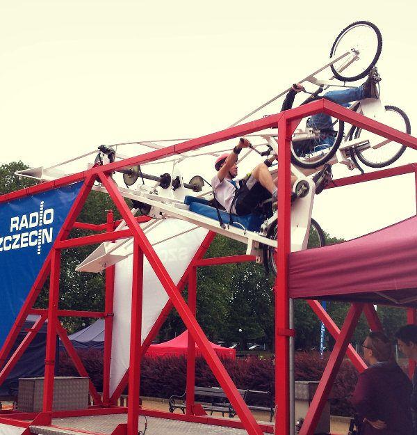 latajace rowery katowice warszawa szczecin