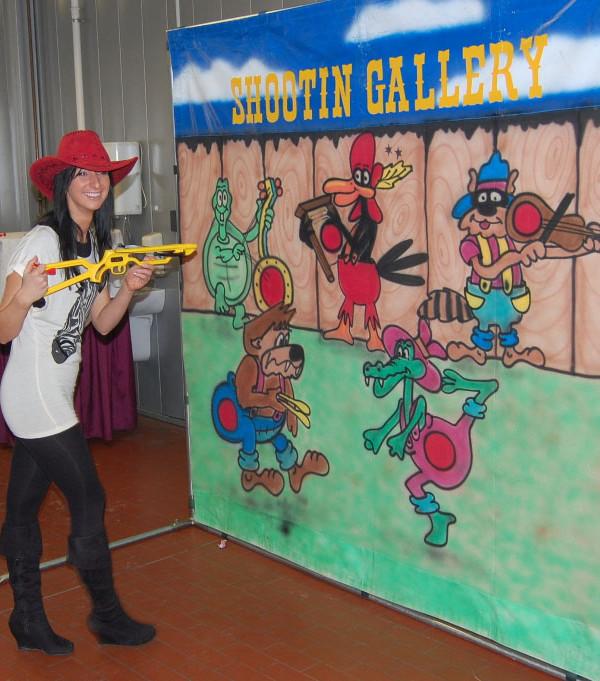 kacik mini strzelnica cartoon shootin gallery